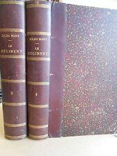 Le Régiment Jules Mary Edition Rouff en 2 tomes reliés