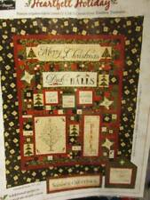 Heartfelt Holiday Quilt Pattern #WP145-Wing & A Prayer Design-55x63 Inches