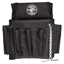 Klein Tools 5719 PowerLine 18-Pocket Black Nylon Electrician's Tool Pouch