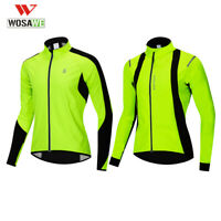 Winter Cycling Jackets Windstopper Thermal Fleece Warm Bike Jerseys Bicycle Coat