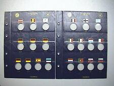 LEUCHTTURM VISTA x 21 monete 2 EURO COMMEMORATIVI TYE 2012 DECENNALE 341624