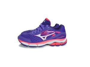 Mizuno Sneakers Purple Pink White Wave Inspire 12 Running Training Womens 7.5