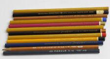 Alte Bleistift Konvolut (No 3), 12 Stk. Vintage pencil lot Hardtmuth Mephisto...