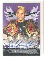 Sharp 2010 Leaf MMA Dan Hornbuckle Autograph Card 22/25 Made