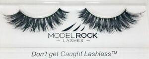 Modelrock Signature Dominatrix - Double Layer Fake False Lashes 100% Human Hair