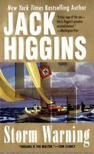 Storm Warning by Jack Higgins (Paperback)