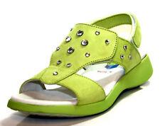 Sandales vertes pour fille de 2 à 16 ans