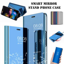 For Huawei P Smart 2019/Honor 10Lite Smart Clear Mirror Leather Stand Case Cover