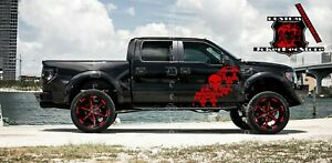 Rear bed decal sticker kit for Ford Raptor F-150