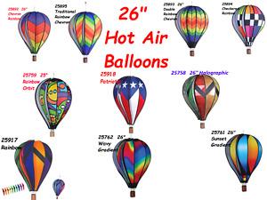 "26"" Hot Air Balloon Wind Spinner by Premier Design"