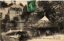 CPA Vichy Bassin des Cygnes et Villa des Serres (682817)