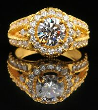 Yellow Gold Solitaire Engagement Ring 000004C5