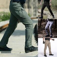 Мужские тактические брюки уличные походные Ветрозащитные водонепроницаемые боевые спортивные штаны