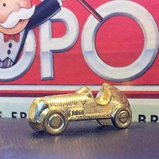 GOLD Tone RACE CAR Token Game Piece fr MONOPOLY Deluxe Edition 1998