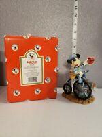 Vintage Disney Enesco Postman Mickey Mouse My Funny Valentine Figurine