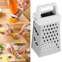 Mini 4Side Stainless Steel Handheld Grater Shredding Tool Kitchen Ma X1X1