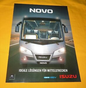 Isuzu Novo 2011 Bus Prospekt Brochure Prospetto Catalog Folder Prospect
