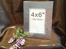 Silver Texture Finish 4x6 Photo Frame