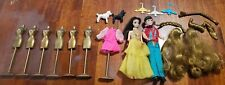 1970 Topper Dawn Doll and Dancing Gary Lot with Clothes Poodles Hangers Bustform