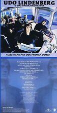 "Udo Lindenberg ""Alles klar auf der Andrea Doria"" Digital remastered! Neue CD!"