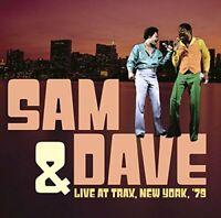 Sam & Dave - Live At Trax, New York, '79 (2016)  CD  NEW/SEALED  SPEEDYPOST