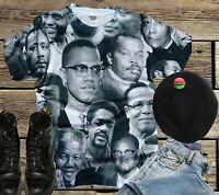 FREEDOM FIGHTERS T-SHIRT. SUBLIMATION TEE.Black History t-shirts Black History T