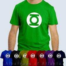 GREEN LANTERN T SHIRT Big Bang Theory Tshirt Sheldon Cooper Unisex T-shirt Tee