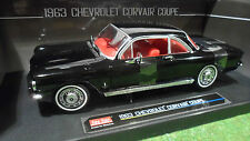 CHEVROLET CORVAIR Coupé nera 1963 1/18 SUNSTAR 1484 macchina in miniatura