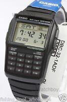DBC-32-1A Black Casio E Data Bank Plastic Watch DBC32 Calculator Telememo Japan