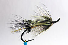 1 x mouche Saumon BANDIT SINGLE hook salmon fly fliegen steelhead hairwing lac