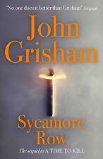 """AS NEW"" Grisham, John, Sycamore Row, Book"