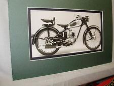 1952 DKW RT 125W German  Motorcycle Exhibit  Automotive Museum