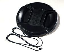 67mm centro avvicina le dita e grip Copriobiettivo Coperchio Si Adatta A Canon Sony Nikon Olympus Fuji