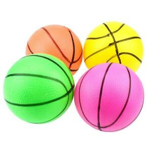 10cm Mini Inflatable Basketball Toys Outdoor Kids Hand Wrist Exercise Small Ball