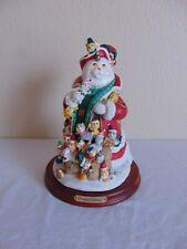 Danbury Mint Santa Claws Cat Figurine