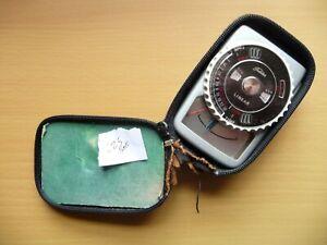 Vintage Toshiba Exposure Meter & Case - Good Working Order - Bargain!