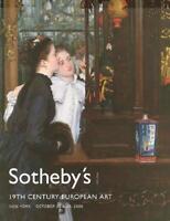 Sotheby's Sale NO8235 19th C. European Art Auction Catalog 2006