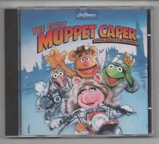The Great Muppet Caper Original Soundtrack CD Album Jim Henson