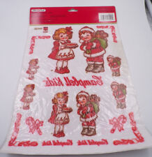 CAMPBELL'S ~ CAMPBELL KIDS ~ IRON-ON SOFT TRANSFERS ~ SANTA'S HELPERS ~ 1995 NEW