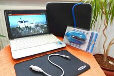 MSI U100 Netbook l 10 Zoll l AKKU NEU l EXTRAS l TouchPad Defekt l Windows XP