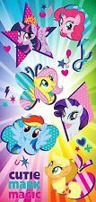 My Little Pony Fun Splashes Beach Towel measures 28 x 58 inches