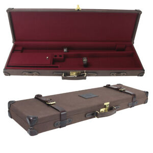 Tourbon Deluxe Shotgun Hard Case Gun Safe Storage Box Lockable Cabinet Universal
