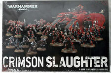 Warhammer 40,000 Crimson Slaughter Dark Vengeance Expansion Kit New in Box