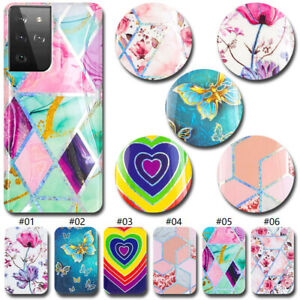 Pattern Silicone Skin TPU Soft Case For Samsung Galaxy S10e S20 Ultra FE S21+ 5G