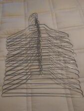 20 Silver Metal, Wire, Clothes, Coat, Uniform, Hangers, Adult, 14.5 inch