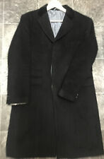 William Hunt Savile Row Size 42 Cashmere Wool Blend Coat Autumn Winter Jacket