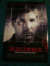 RED CORNER - MOVIE POSTER WITH RICHARD GERE