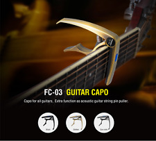 Flanger FC-03 Guitar Capo Golden For Electric Acoustic Guitar Accessories