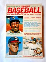 May1975 Tommy Kay's Big Book of Baseball magazine, Hank Aaron, Milwaukee Brewers