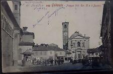 1900 - Varese - GALLARATE - Piazza Vitt. Eman. II e Duomo